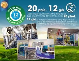 20 phút và 12 giờ - Tiêu chuẩn làm nên sự khác biệt của sữa hoàng gia Úc