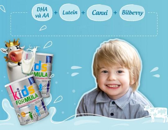 Tại sao mẹ nên cho sữa hoàng gia Royal Ausnz Kids Formula cho bé từ 3 tuổi trở lên?