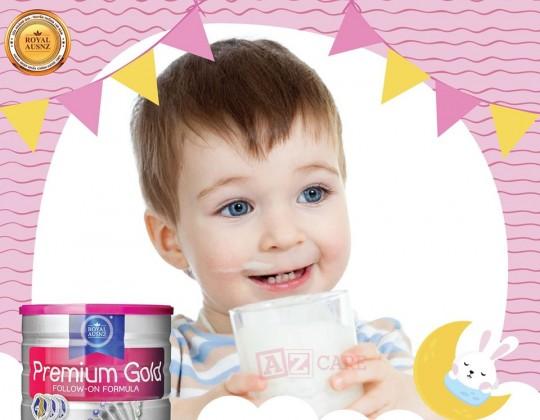Sữa hoàng gia úc premium gold follow-on formula số 2 - tăng cường chức năng hệ tiêu hóa cho bé từ 6 - 12 tháng