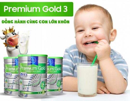 Royal AUSNZ Premium Gold Toddler Milk Drink số 3 - Lựa chọn vàng của mẹ cho sức khỏe của con