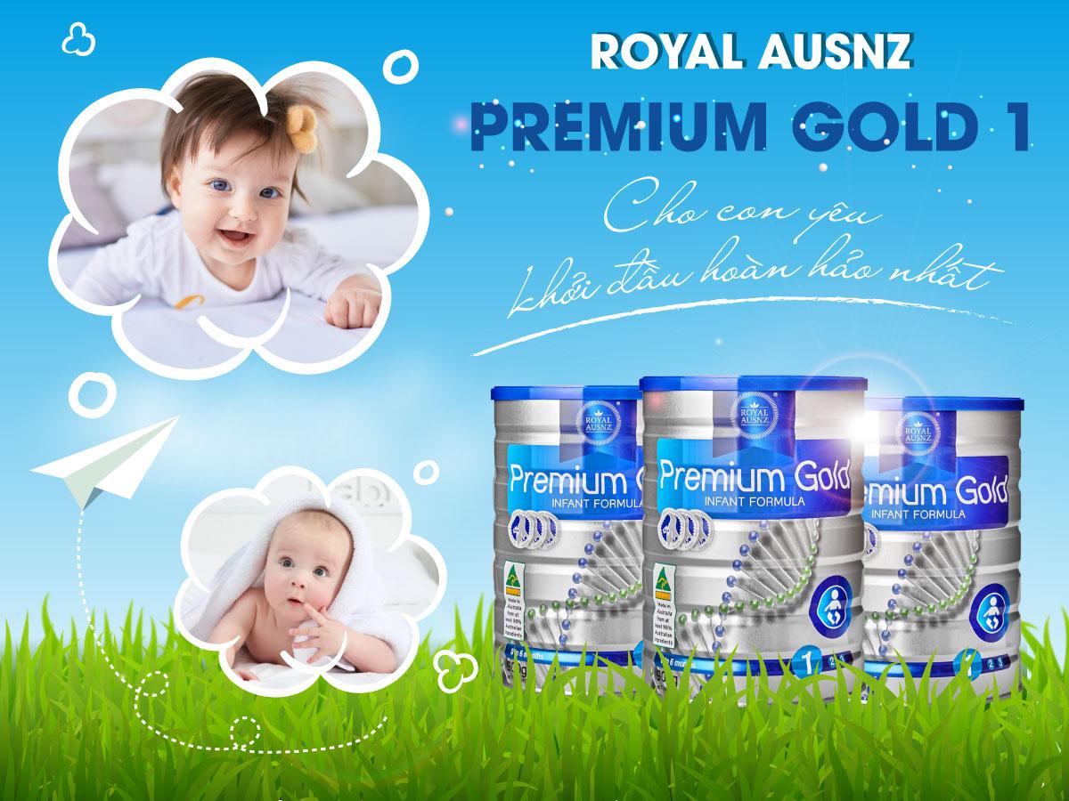 Sữa hoàng gia Úc gold 1