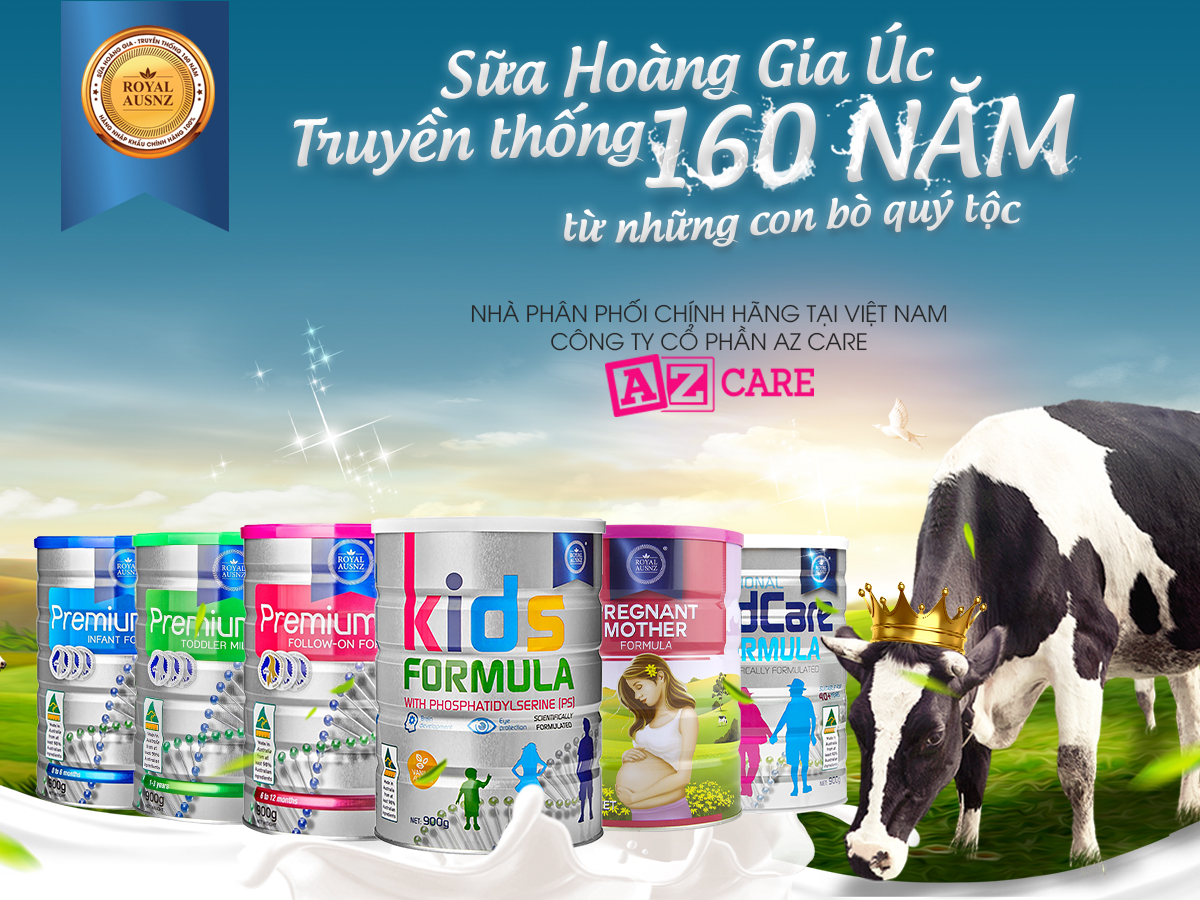 Quy trình sản xuất sữa hoàng gia úc 1